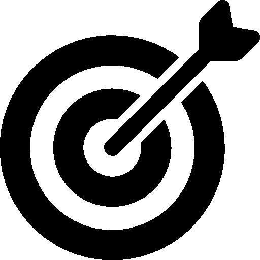 Archery Objective Archer Arrows Target Icon
