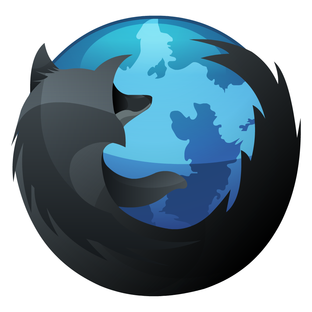 Hp, inverse, Firefox, Browser, Dock icon