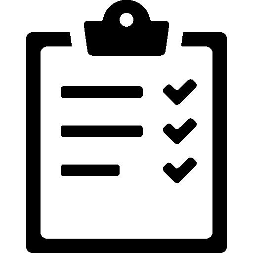 Listing Notepad Checkmark Checking List Icon