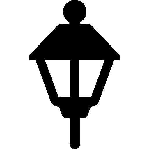 Street Light Urban Lamp Post City Buildings Icon