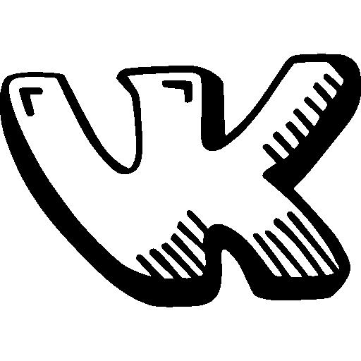 Vk Logo Vkontakte Social Network Social Media