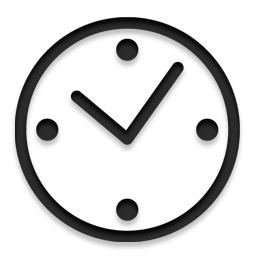 Uhr icon png  Alarm, history, alarm clock, Clock, time icon