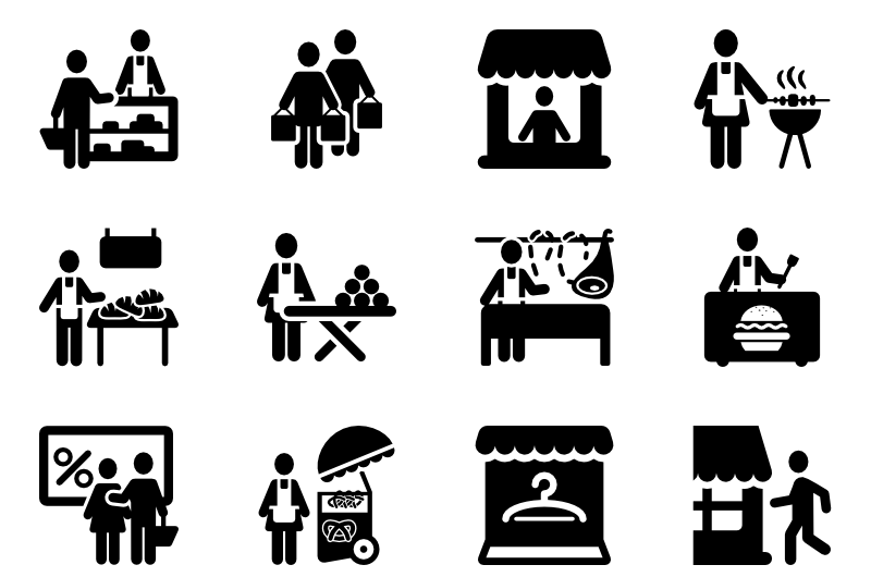 Market And Store Icon
