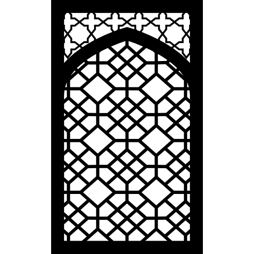 Mosque Ornament Islam Arabic Arabesque Frame