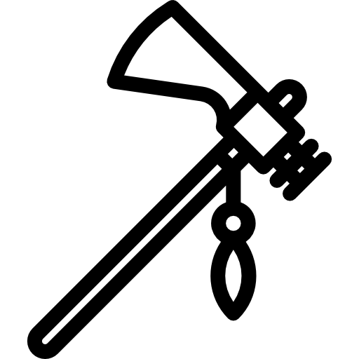 Weapon Weapons Indian Warrior Axe Icon
