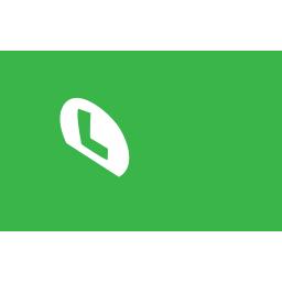 luigi, hat icon