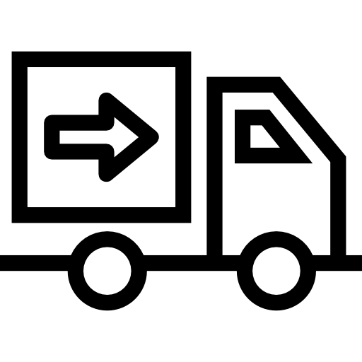 Over Wheels Delivery Tool Truck Transportation Side