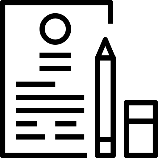 Resume Interface Personal Profile Application Portfolio