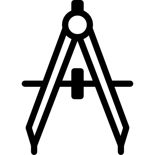 Drafting Compass Icon