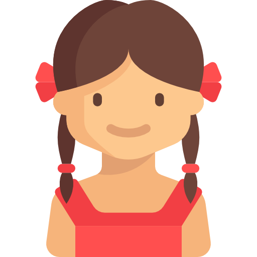 Girl Avatar User Profile People Young Icon