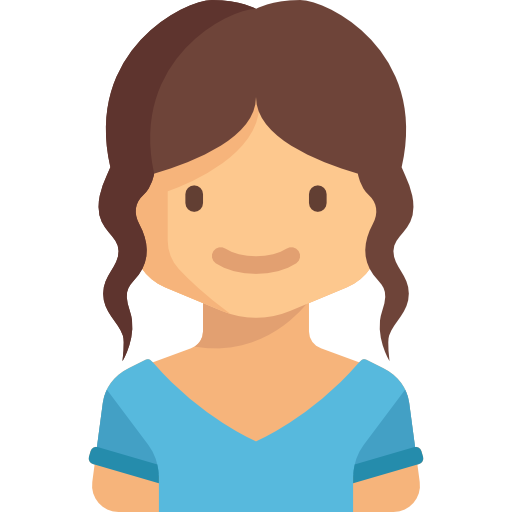 Girl, Avatar, people, user, Child, profile, young, kid icon