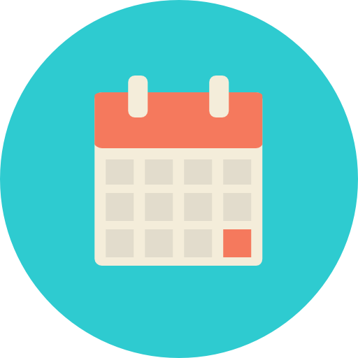 Calendar Icon Png Transparent : Miscellaneous schedule organization time calendar