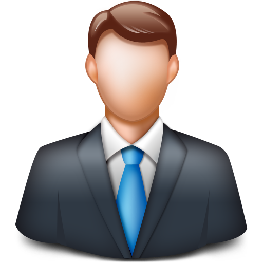 man person businessman client manager icon