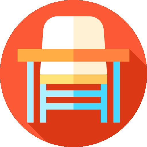 Desk Chair Education Studying Student Desk High