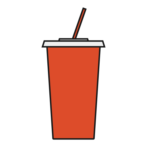 soda, viewer, Theater, snack, movie, drink icon