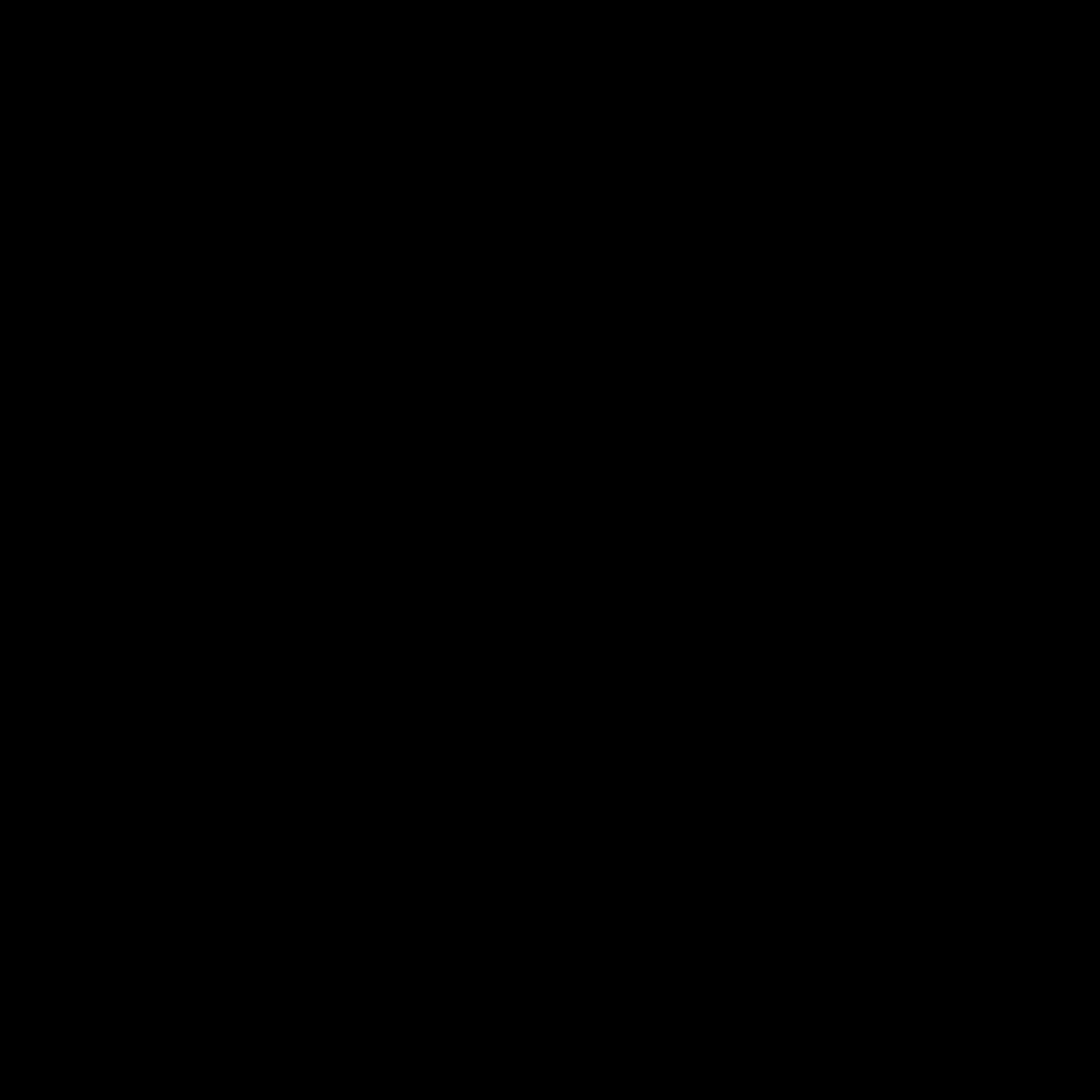 Black, youtube icon