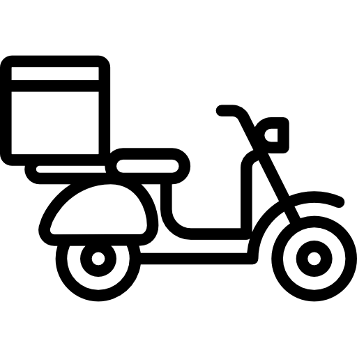 motorbike  scooter  motorcycle  shipping and delivery  transportation  restaurant  vespa