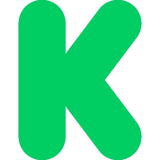 Kickstarter, social network, social media, logotype, Brand ...