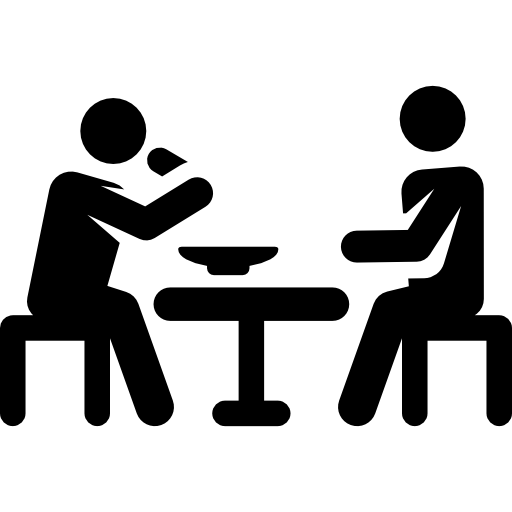 eating  humanpictos  lunching  people icon free shopping clipart borders Shipping and Receiving Clip Art