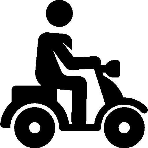 Vespa, transport, Humanpictos, Motorcycle, Delivery ...
