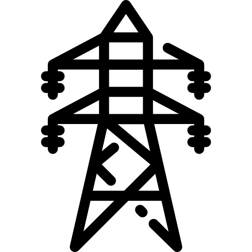Architecture And City Electricity Towers Technology