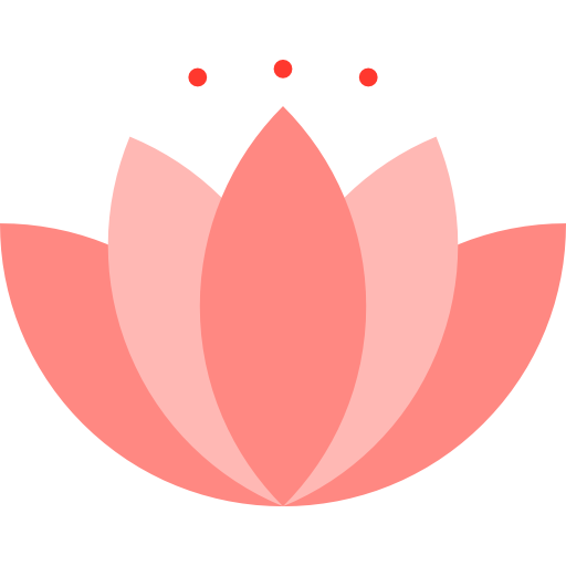 Botanical flower garden blossom nature lotus icon mightylinksfo Choice Image