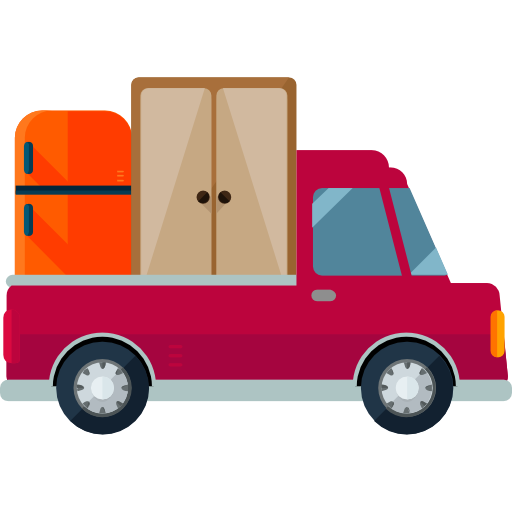 Moving Automobile Shipping And Delivery Car