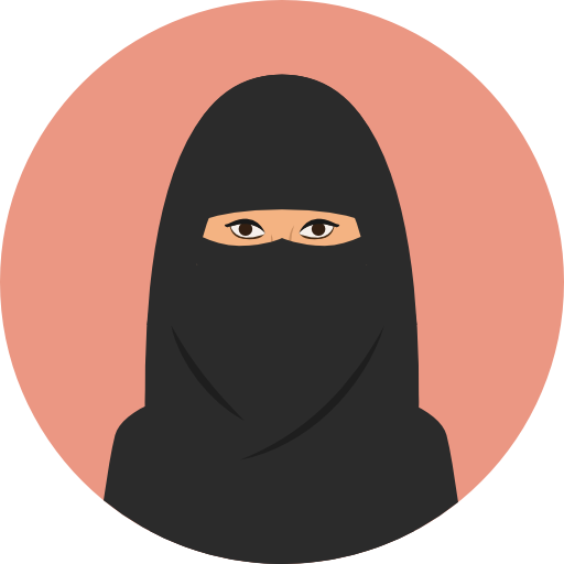 User Woman Avatar Arab Traditional Muslim Culture Cultures Icon