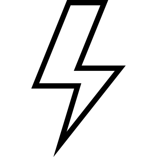 lightning  electrical  technology  thunder  shapes and