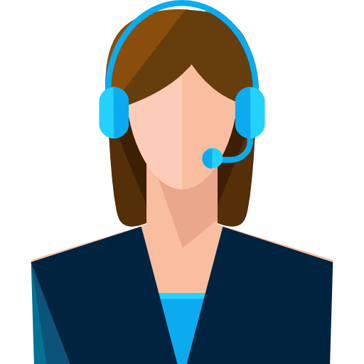User Headphones Call Microphone Avatar Customer