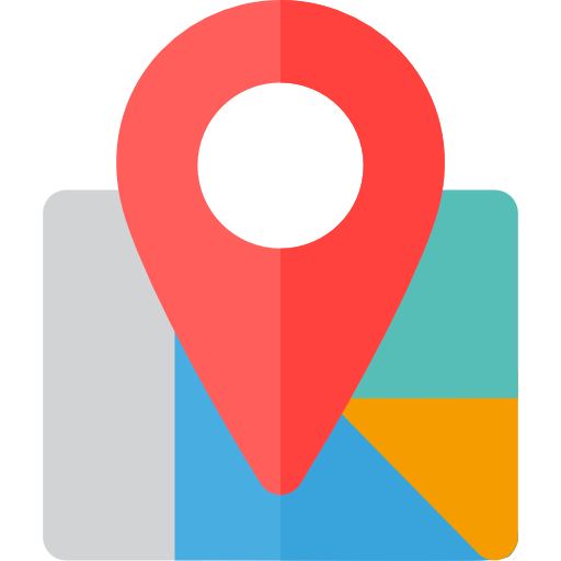 Site Map Icon: Map Location, Map Point, Street Map, Maps And Location