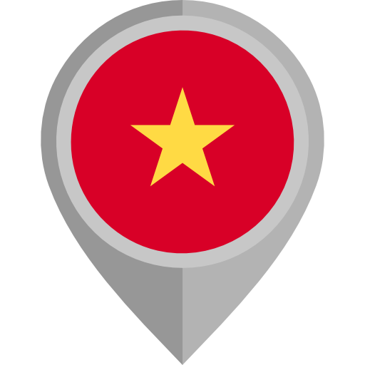 Vietnam Placeholder Flags Country Flag Nation Icon