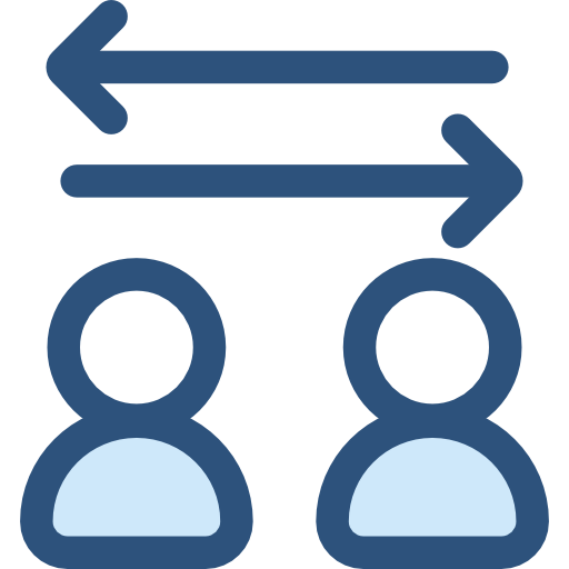 Arrows Right Left Interface Direction Transfer Bidirectional Icon