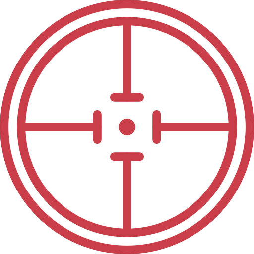 Target, shooting, sniper, weapons, Aim, Seo And Web icon