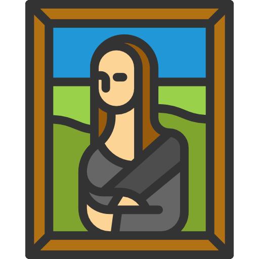 art museum portrait painting canvas art and design icon