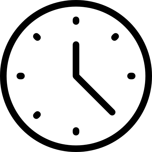 Clock Time Hour Time And Date Icon