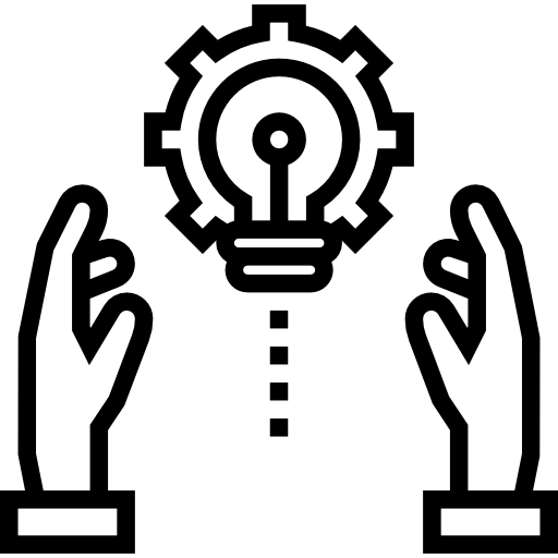 Development, Idea, technology, Seo And Web, Light bulb icon