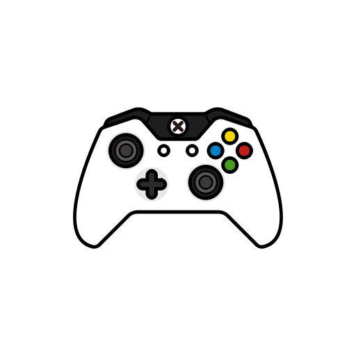 white controller gamer xbox one controllers icon