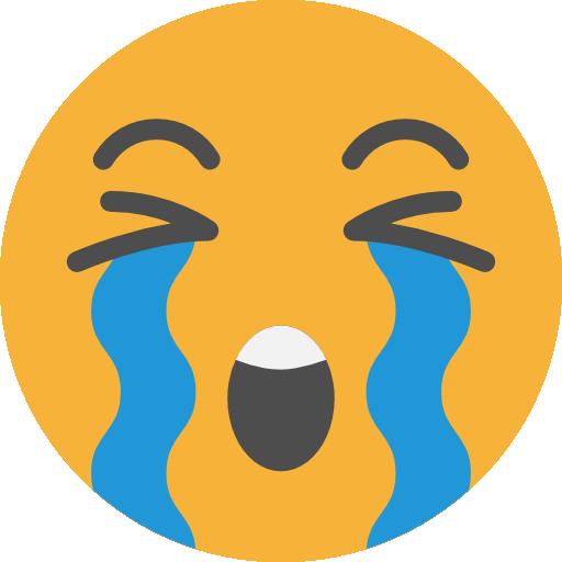 Crying, emoticons, Emoji, feelings, Smileys icon