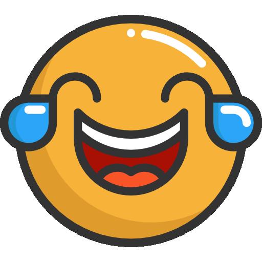 feelings, Smileys, laughing, emoticons, Emoji icon