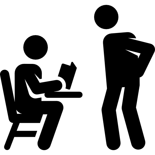 People Education Student Men Teacher Studying