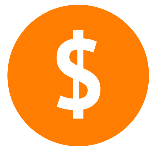 Dollar, Currency icon