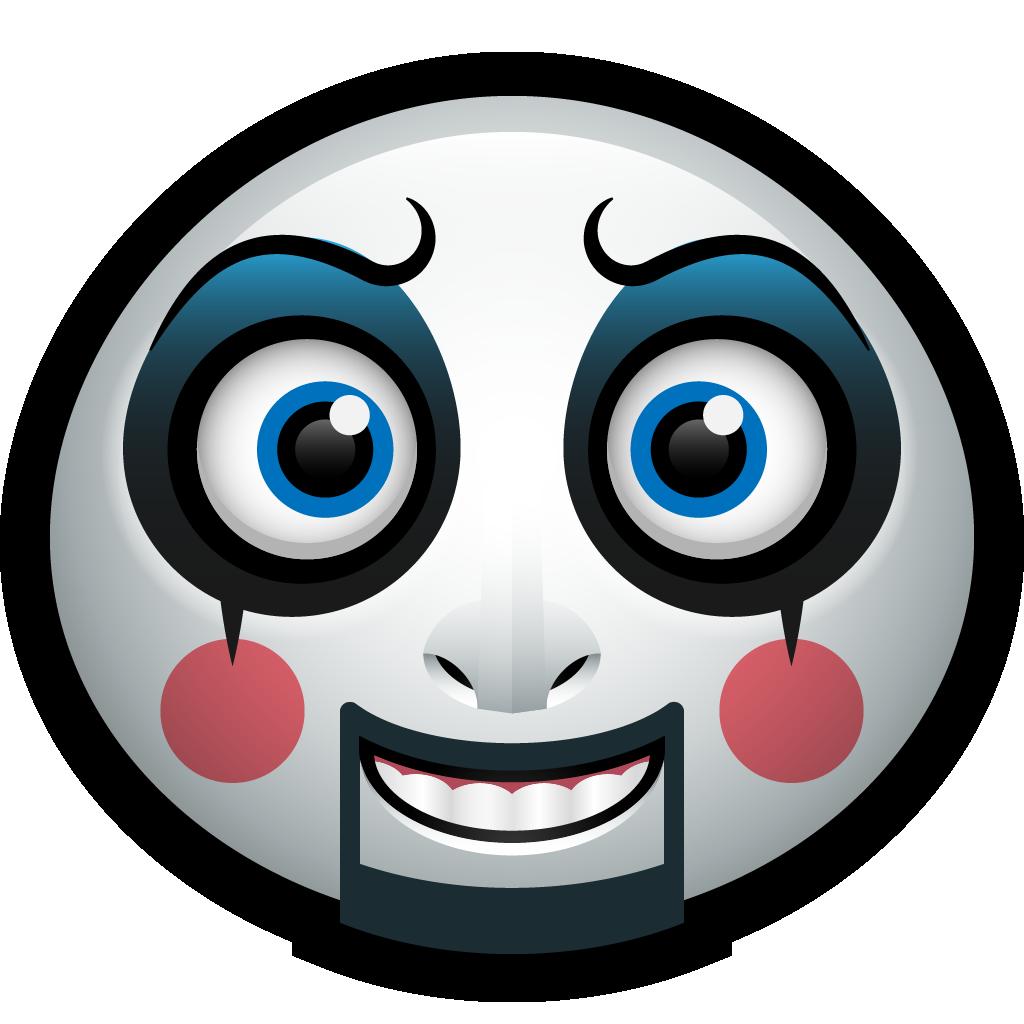 Emoticon, Avatar, funny, Mask, Clown, capt, spaulding icon