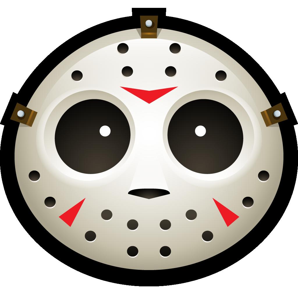 Hockey, Clown, spooky, Mask, halloween, jason, vorhees icon
