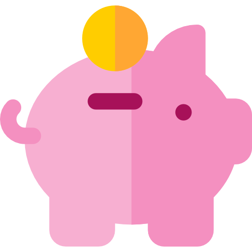 Save Money Coin Piggy Bank Savings Funds Business And Finance Icon