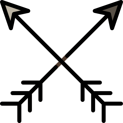 weapon, Archery, Bow, Arrows, sport icon