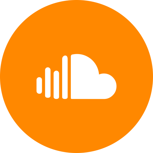 Orange Real Estate Logotypes: Sound Cloud, Round Icon, Sound, Cloud, Circle, Music Icon