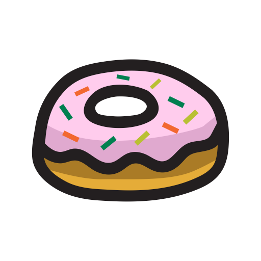 food, Dessert, sweet, donut icon