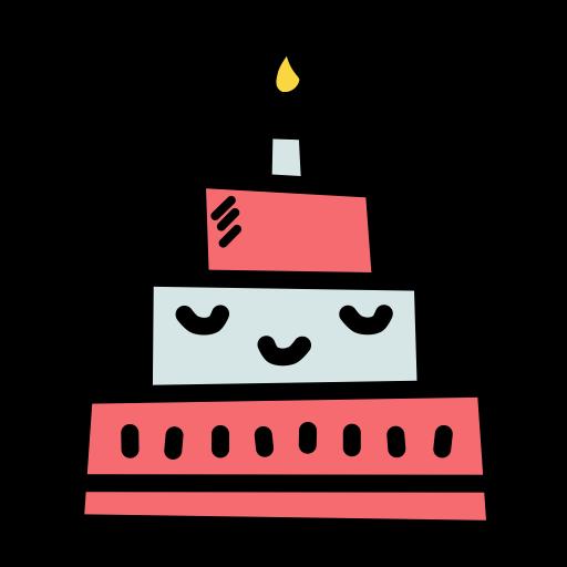 Celebrate christmas Celebration new year birthday cake Candle icon