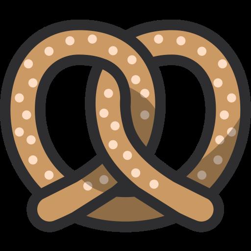 Bakery Baker Pretzel Food Dessert Icon